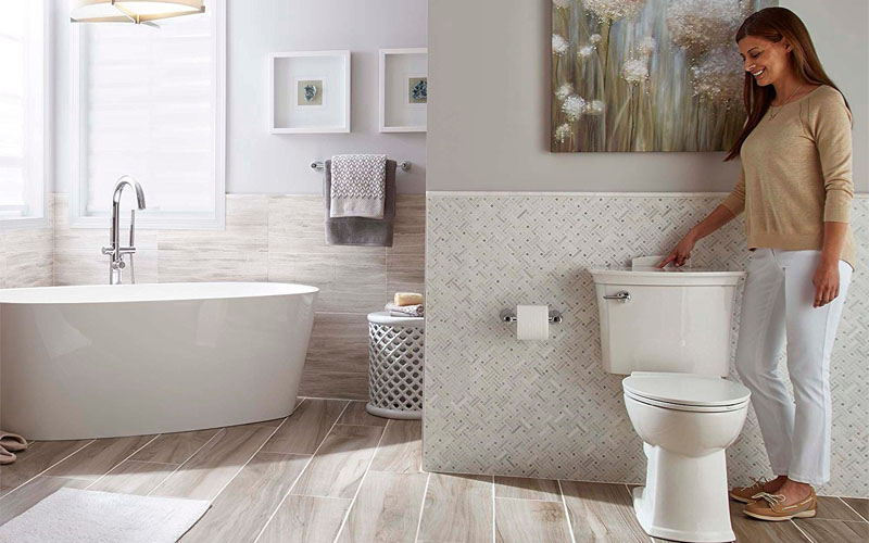 American Standard Self Cleaning Toilet Review
