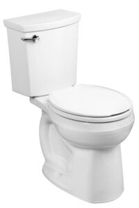 American Standard Siphonic Normal Height Round Front Toilet