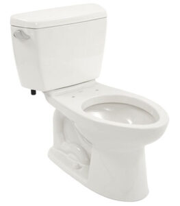 Drake 2-Piece Toilet with Elongated Bowl and Sanagloss