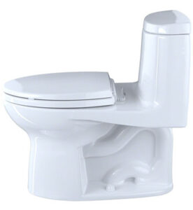 Ultramax II Het Double Cyclone Elongated One Piece Toilet