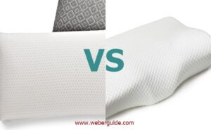 latex vs memory foam pillow