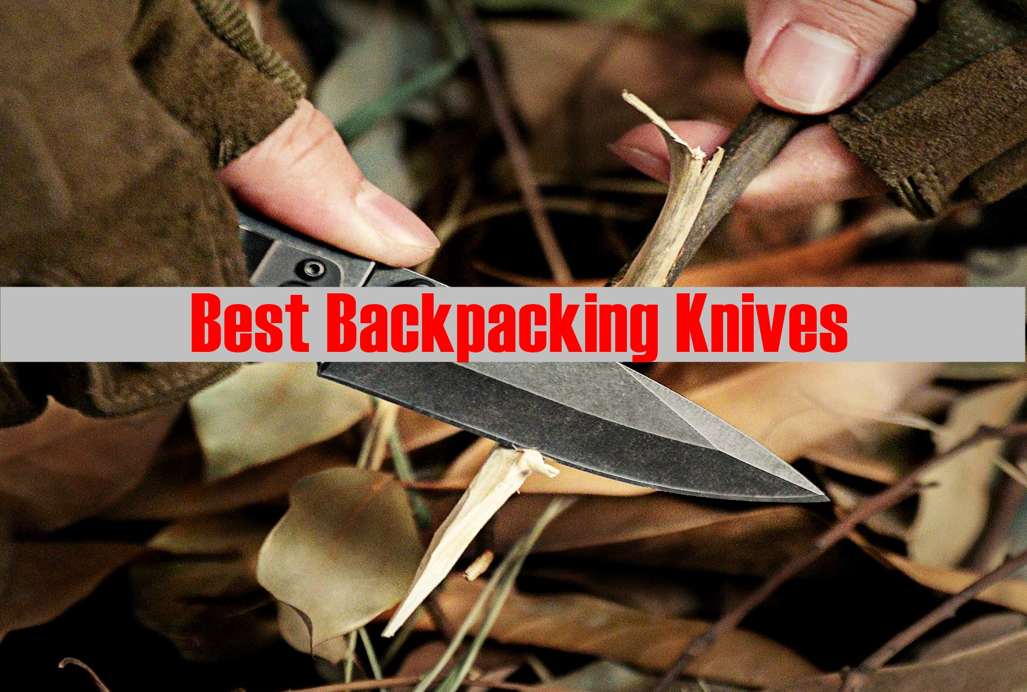 The 5 Best Backpacking Knives
