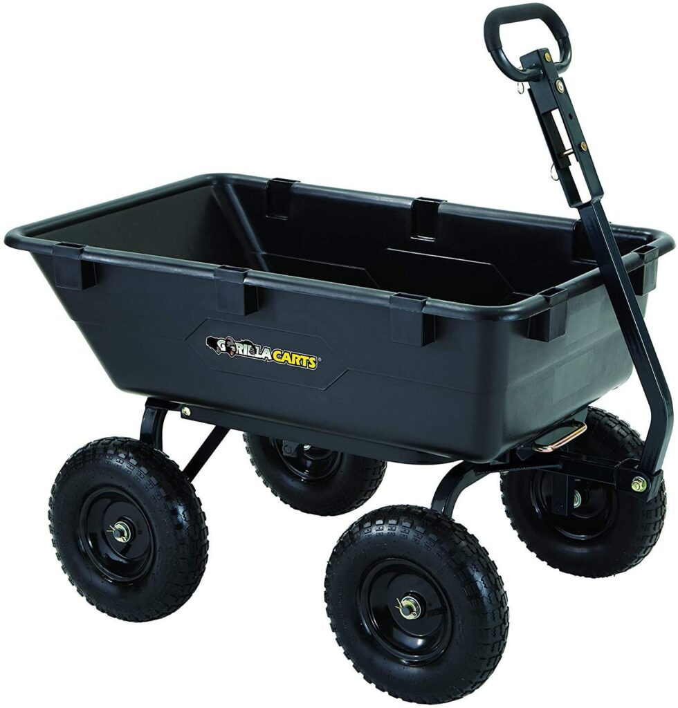 Gorilla Yard Dump Cart