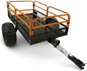 MotoAlliance Impact ATVUTV Heavy Duty Utility Cart Cargo Trailer